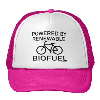 Powered By Renewable Biofuel Cap