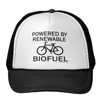 Powered By Renewable Biofuel Mesh Hat
