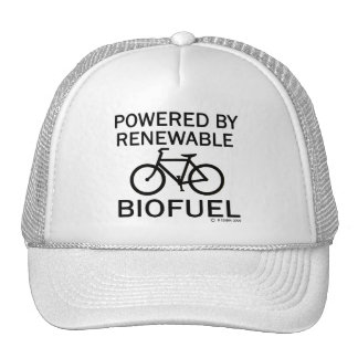Powered By Renewable Biofuel Mesh Hats