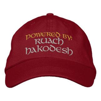 Powered By: Ruach HaKodesh Embroidered Baseball Cap