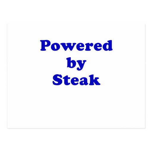 Powered by Steak Postcards