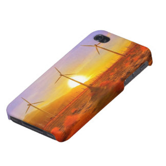 Powered by Wind iPhone 4 Covers