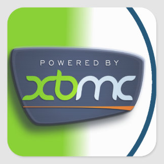 Powered By XBMC Sticker
