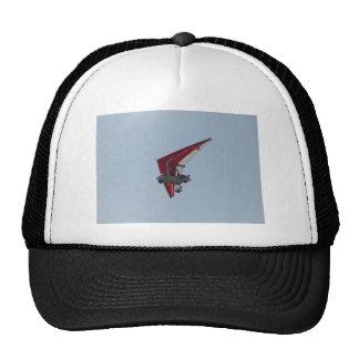 Powered hang glider mesh hat