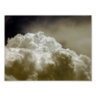 Powerful and Epic Clouds Poster