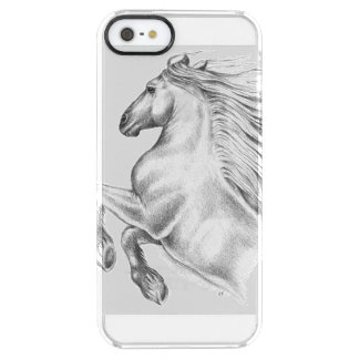 Powerful Andalusian Horse Clear iPhone SE/5/5s Case
