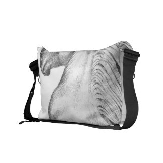 Powerful Andalusian Horse Courier Bag