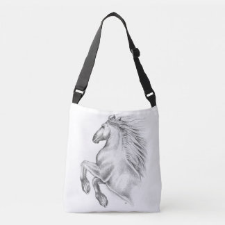 Powerful Andalusian Horse Crossbody Bag