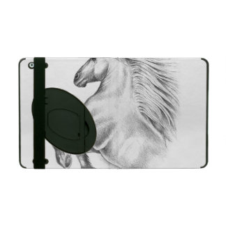 Powerful Andalusian Horse iPad Folio Case