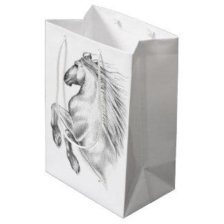 Powerful Andalusian Horse Medium Gift Bag