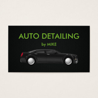 Powerful Auto Detailing Business Card