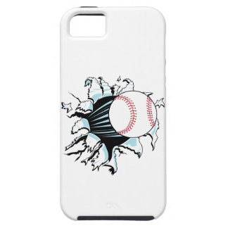 powerful baseball ripping through iPhone 5 case