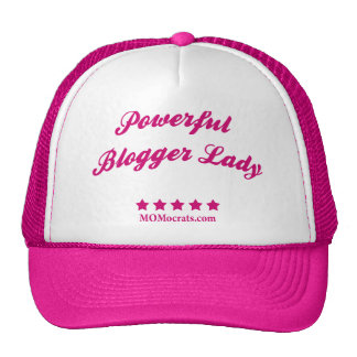 Powerful Blogger Lady Hat