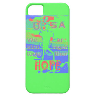 Powerful ECO USA Hillary Hope We Are Stronger Toge Barely There iPhone 5 Case