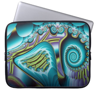 Powerful motion laptop sleeve