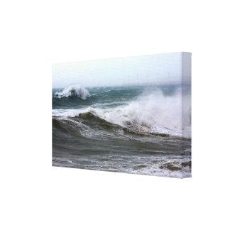 Powerful Ocean Waves Canvas Print