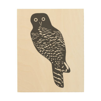 Powerful owl wall art
