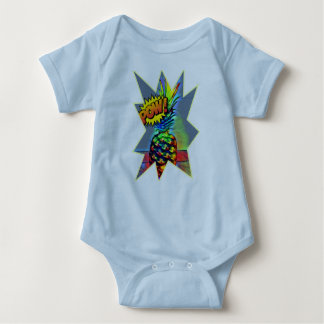 Powerful pineapple baby bodysuit