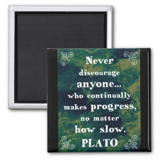 Powerful Plato Support/Help/Change Quote Magnet
