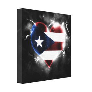 Powerful Puerto Rico Canvas Print