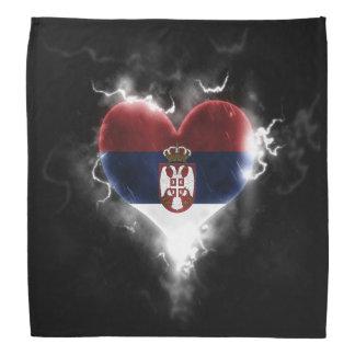 Powerful Serbia Bandana