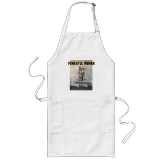 POWERFUL WOMAN Altered French Freedom Woman Apron