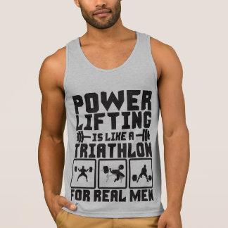 Powerlifting Is Like A Triathlon For Real Men Singlet