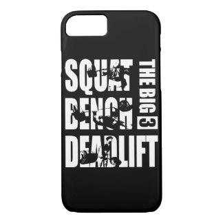Powerlifting - Squat, Bench, Deadlift iPhone 7 Case