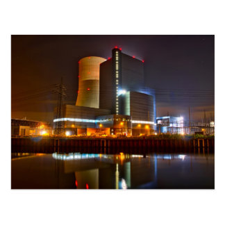 Powerplant nightlife postcard
