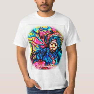 POWERS Blues Haze Psychedelic T-Shirt