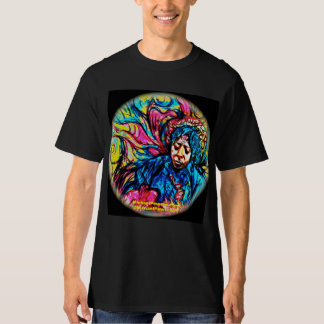POWERS Blues-Haze Psychedelic Tee Shirt