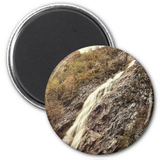 Powerscourt Waterfall. Co. Wicklow, Ireland rare P 6 Cm Round Magnet