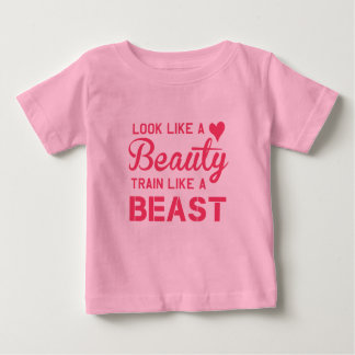 PowerSparkle Workout Designs Baby T-Shirt