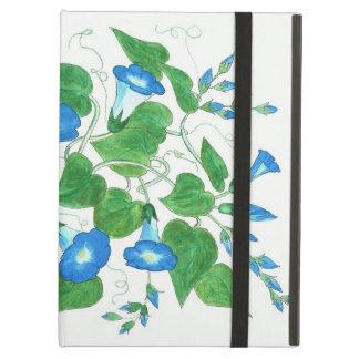Powis iCase iPad Case, Morning Glory Flowers