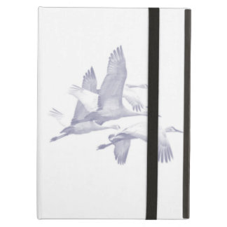 Powis iCase iPad Case with Kickstand, Flying Swans