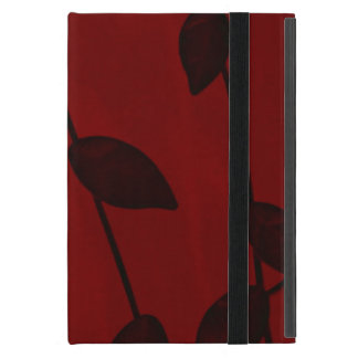 Powis iCase iPad Mini Case with Kickstand~Red Vine
