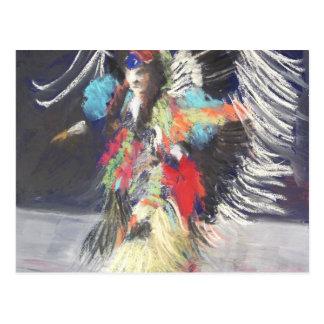 Powwow 2 postcard