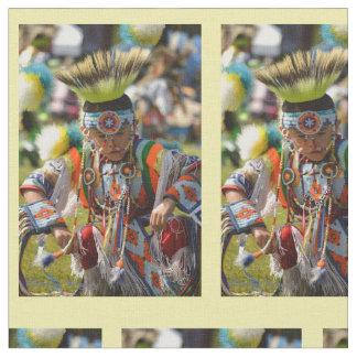 powwow dancer fabric