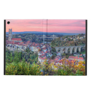 Poya and Zaehringen bridge, Fribourg, Switzerland Case For iPad Air