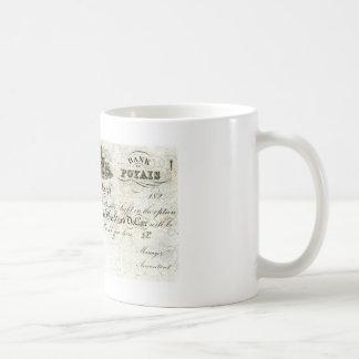 Poyais Bank Note Mug