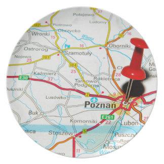 Poznan, Poland Plate