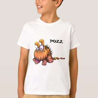 POZZ CUTE DOG CARTOON ALIEN SHIRT