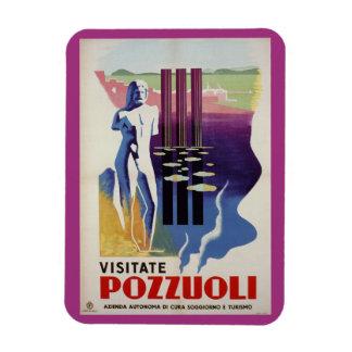 Pozzuoli ancient Greek Roman city Italy travel ad Magnet