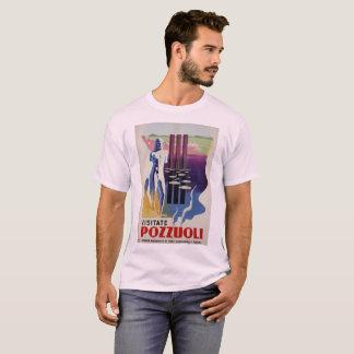 Pozzuoli ancient Greek Roman city Italy travel ad T-Shirt