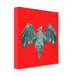 PR Rum Bat Canvas Print