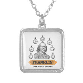 Practical Ben Silver Plated Necklace