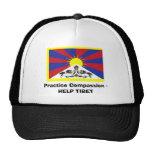 Practice Compassion - HELP TIBET Mesh Hats