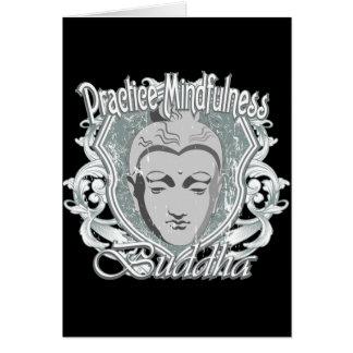 Practice Mindfulness Buddha Card