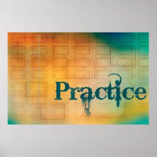 Practice Poster - Trumpet