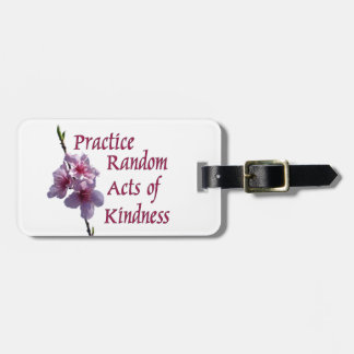Practice Random Acts of Kindness Tags For Bags
